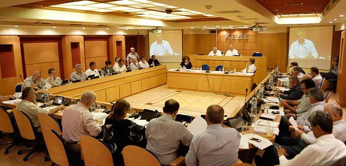 Συνεδρίαση Διοικητικού Συμβουλίου ΚΕΔΕ στις 15 Οκτωβρίου