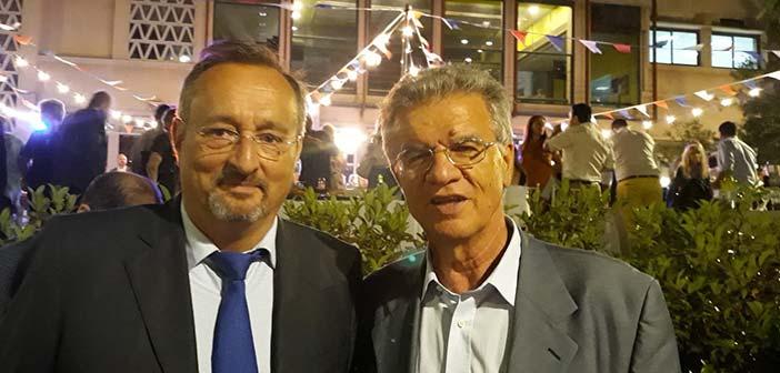 Ο Γ. Θεοδωρακόπουλος σε εκδήλωση της γαλλικής πρεσβείας για την εθνική γιορτή της Γαλλίας