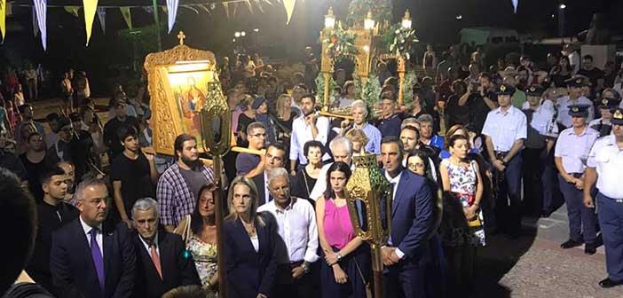 Με λαμπρότητα εορτάστηκαν τα Εννιάμερα της Παναγίας στον Χολαργό