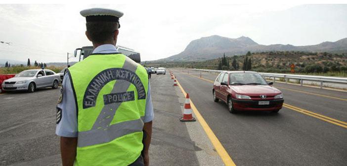 «Σαφάρι» ελέγχων της Τροχαίας για υπερβολική ταχύτητα και οδήγηση υπό επήρεια αλκοόλ