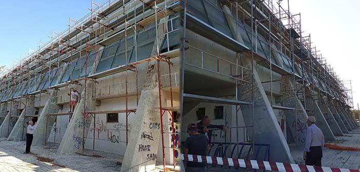 Έργα ολιστικής επισκευής – συντήρησης του Κλειστού Γυμναστηρίου Βριλησσίων μετά από 15 χρόνια