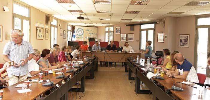 Επίσκεψη ομάδας Γερμανών εργαζομένων στο Χαλάνδρι