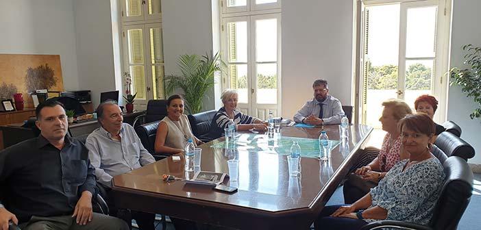 Συνάντηση διοίκησης ΙΓΕ με τον Σύλλογο «Φίλοι του Δάσους Συγγρού»