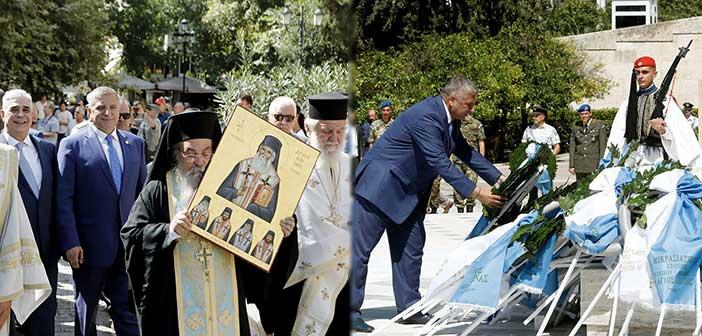 Στις εκδηλώσεις μνήμης για τη Γενοκτονία των Ελλήνων της Μικράς Ασίας ο Γ. Πατούλης