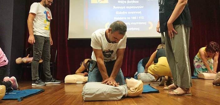 Πραγματοποιήθηκε με επιτυχία το σεμινάριο Πρώτων Βοηθειών στον Δήμο Πεντέλης