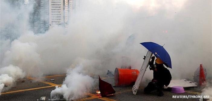 Η βία επέστρεψε στο Χονγκ Κονγκ
