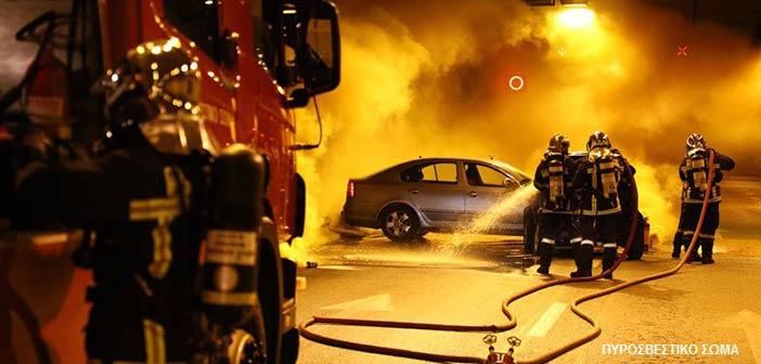 Πυρκαγιά σε αυτοκίνητο στο Μαρούσι