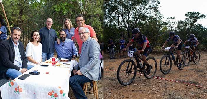 Στον 3ο Αγώνα Ορεινής Ποδηλασίας και στην εκδήλωση του 2ου Συστήματος Προσκόπων Αμαρουσίου ο Θ. Αμπατζόγλου