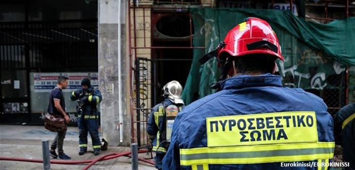 Φωτιά σε ισόγειο κατάστημα στο Χαλάνδρι