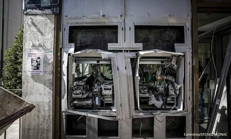 Επιθέσεις σε ΑΤΜ τραπεζών και καταστημάτων σε Μαρούσι και άλλες περιοχές της Αττικής