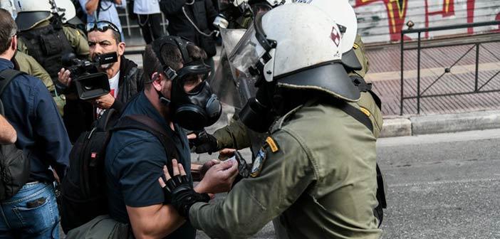 Συνελήφθη στο Χαλάνδρι φοιτητής για τα επεισόδια στην ΑΣΟΕΕ