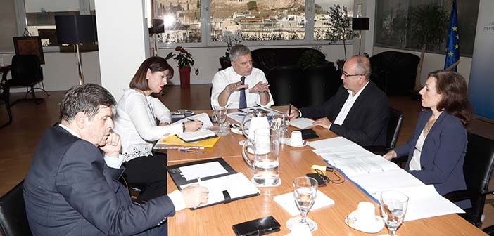 Συνάντηση Γ. Πατούλη – Ν. Μπάμπαλου για θέματα του Δήμου Ηρακλείου Αττικής