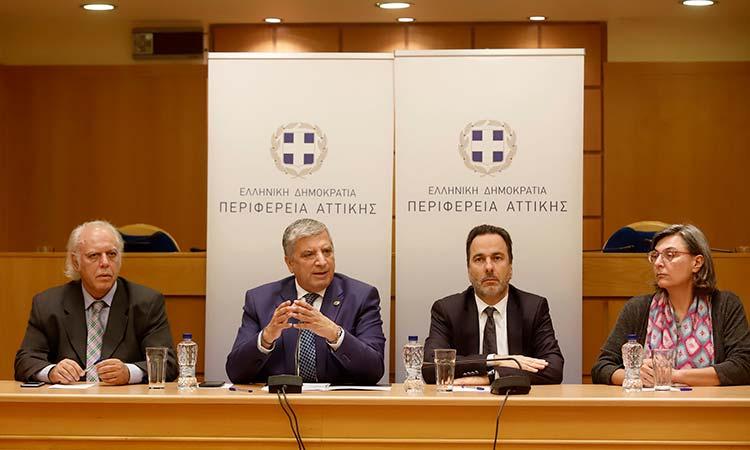 Τους στρατηγικούς άξονες της Περιφέρειας Αττικής για τις Πολιτικές Δημόσιας Υγείας παρουσίασε ο Γ. Πατούλης