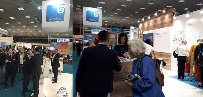 Δυναμική παρουσία της Περιφέρειας Αττικής σε διεθνείς εκθέσεις Τουρισμού