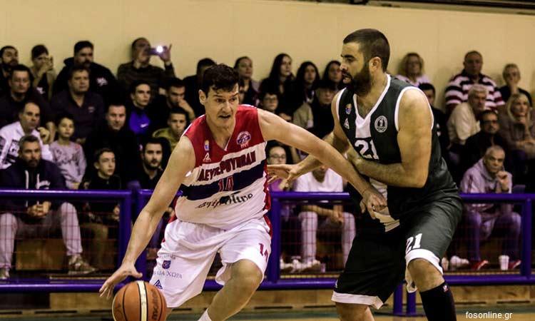Α2 μπάσκετ Ανδρών: Ήττα του Ψυχικού από τον πρωτοπόρο Χαρίλαο Τρικούπη με 79-74