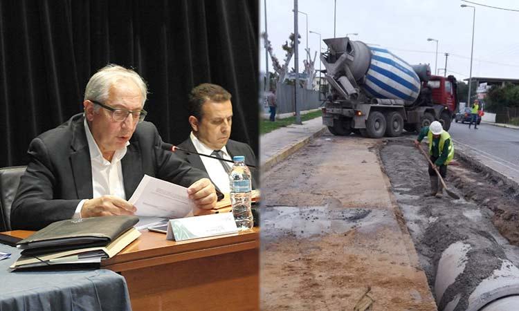 Άμεση προτεραιότητα στα αντιπλημμυρικά έργα δίνει το Τεχνικό Πρόγραμμα του Δήμου Αμαρουσίου για το 2020