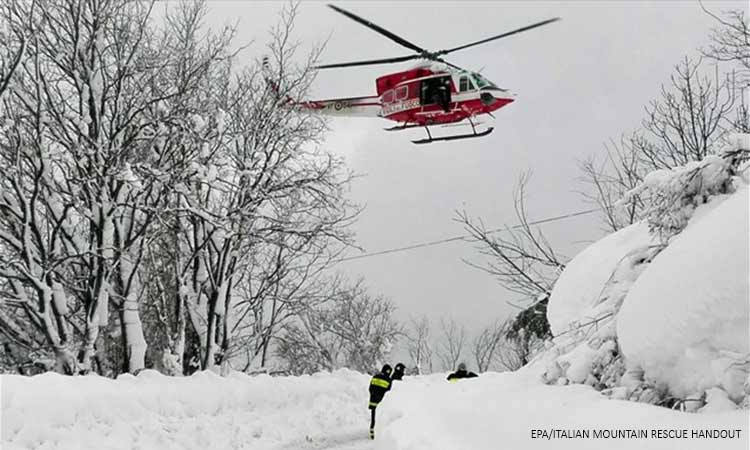 Ιταλία: Νεκρές από χιονοστιβάδα 35χρονη και δύο κοριτσάκια