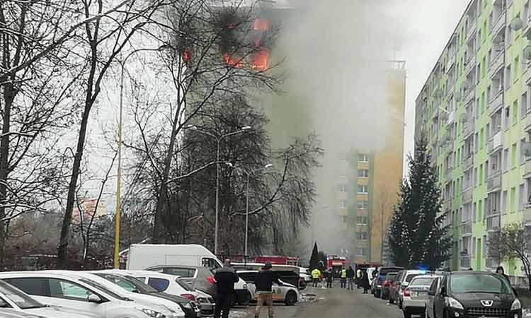Σλοβακία: Έκρηξη αερίου σε πολυκατοικία – 5 νεκροί