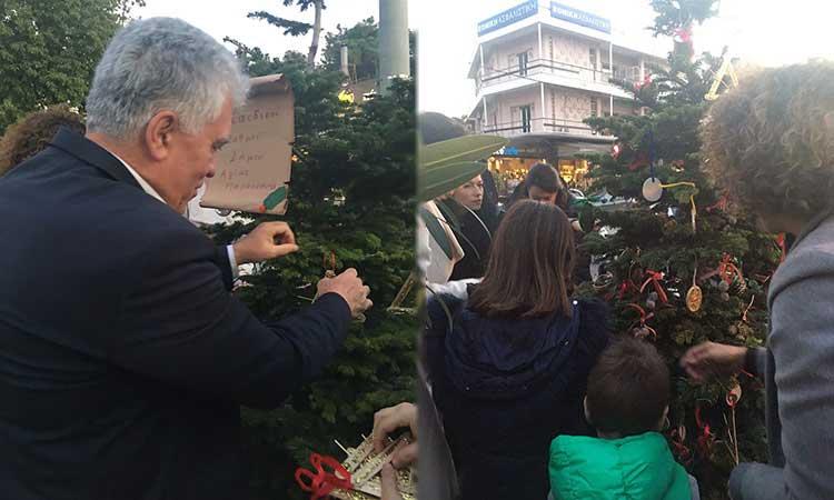 Τον ερχομό των Χριστουγέννων γιόρτασαν τα παιδιά των Παιδ. Σταθμών Δήμου Αγίας Παρασκευής