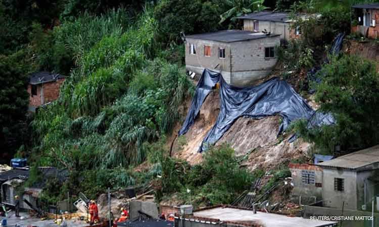Βραζιλία: Τουλάχιστον 52 νεκροί από τις κατολισθήσεις και τις πλημμύρες στην πολιτεία Μίνας Ζεράις