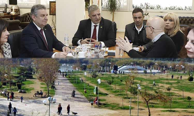 Συζήτηση στην Περιφέρεια Αττικής για τα προβλήματα και τη λειτουργία του πάρκου Τρίτση