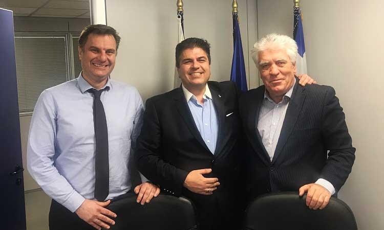 Θέματα χρηματοδότησης & στελέχωσης του Δήμου Αγ. Παρασκευής συζήτησαν δήμαρχος – πρόεδρος ΕΕΤΑΑ