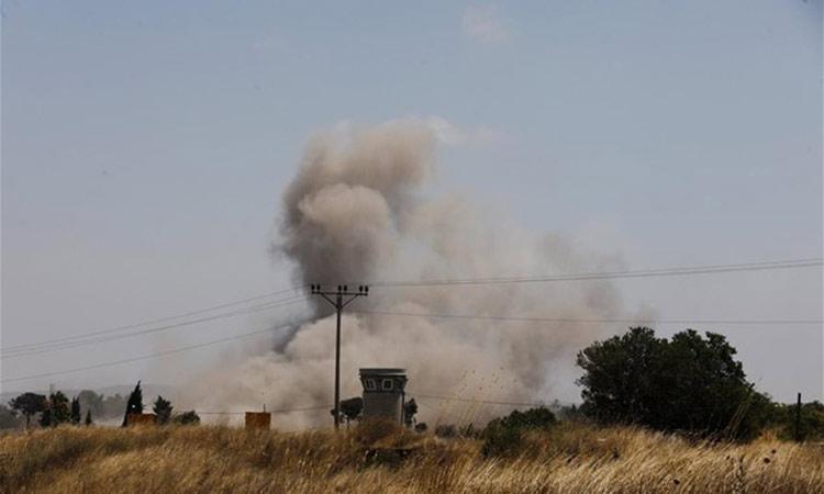 Πυρά εναντίον θέσεων της Χαμάς από τις ισραηλινές δυνάμεις