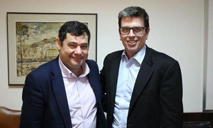 Πλούσια η «ατζέντα» των θεμάτων που συζήτησαν Τ. Μαυρίδης και Δ. Καιρίδης