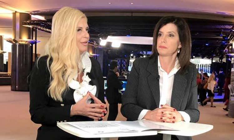 Η Μ. Πατούλη συζητά για το Δίκτυο «Τέχνη Χρω» με την Άννα Μισέλ Ασημακοπούλου
