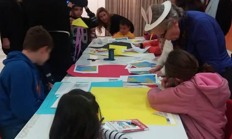 Αποκριάτικη γιορτή για τα παιδιά του Κοινωνικού Παντοπωλείου