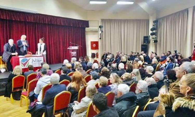 Γ. Σταθόπουλος στην πίτα της Νίκης: Ανεβάσαμε ψηλά τον πήχη