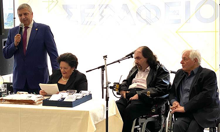 Γ. Πατούλης: Θα εργαστούμε για την εξασφάλιση ενός καλύτερου μέλλοντος  για τους συνανθρώπους μας με αναπηρία