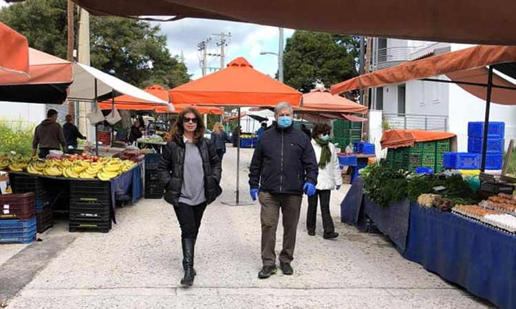 Βλ. Σιώμος: Με υπευθυνότητα διεξήχθη η λαϊκή αγορά στη Ν. Πεντέλη