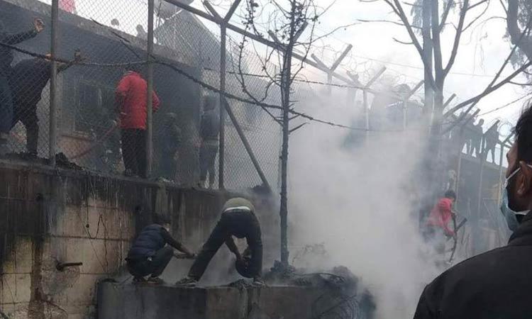 Τραγωδία στη Λέσβο: Νεκρό 6χρονο παιδί στη φωτιά στο ΚΥΤ
