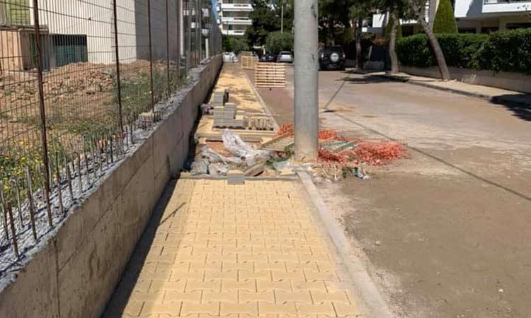 Συνεχίζονται τα έργα σε όλη την έκταση του Δήμου Λυκόβρυσης – Πεύκης