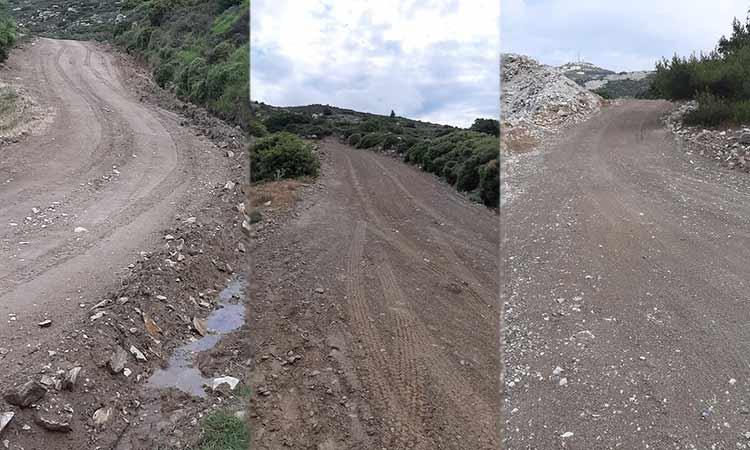 Εργασίες συντήρησης και αποκατάστασης δασικών δρόμων στο Πεντελικό από τον ΣΠΑΠ