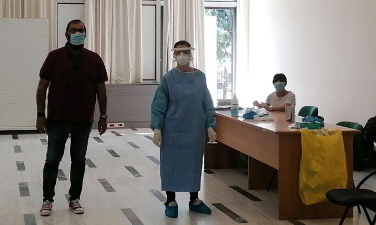 Ολοκληρώθηκε η τρίτη περίοδος λήψης δειγμάτων έναντι της επιδημίας Covid-19 στον Δήμο Αμαρουσίου