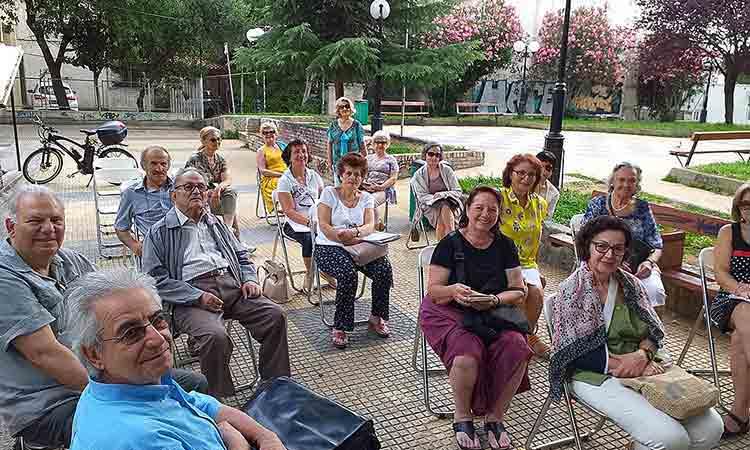 Αποχαιρετιστήρια συνάντηση της Ομάδας της Λέσχης Ανάγνωσης των ΚΑΠΗ Αγίας Παρασκευής