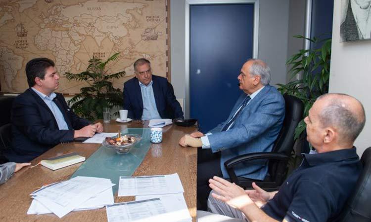 Τ. Θεοδωρικάκος και διοίκηση της ΕΕΤΑΑ συζήτησαν για τις προσκλήσεις του «Αντώνη Τρίτση»