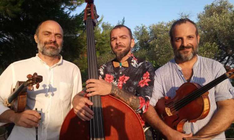 Frog String Trio: Μια εναλλακτική μουσική σύμπραξη τριών εγχόρδων στη Ρεματιά