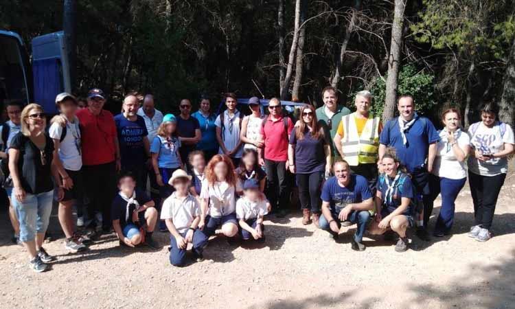 Με επιτυχία η δράση καθαρισμού του δάσους Φασίδερη Δημοτικής Ενότητας Εκάλης