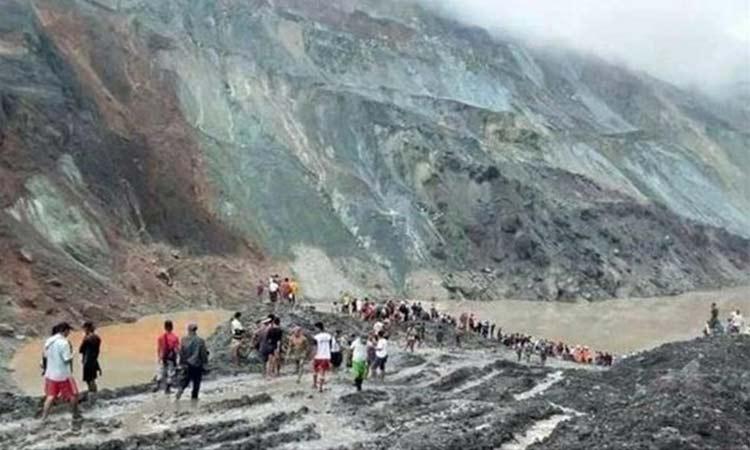Μιανμάρ: Τουλάχιστον 113 νεκροί από κατολίσθηση σε ορυχείο νεφρίτη