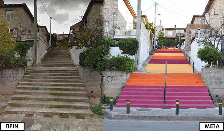 Ο Δήμος Ν. Ιωνίας δίνει… χρώμα στις γειτονιές της πόλης