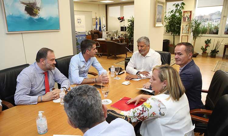 Γ. Πατούλης και Κ. Μπακογιάννης συζήτησαν για τον πρώτο μήνα του Μεγάλου Περιπάτου