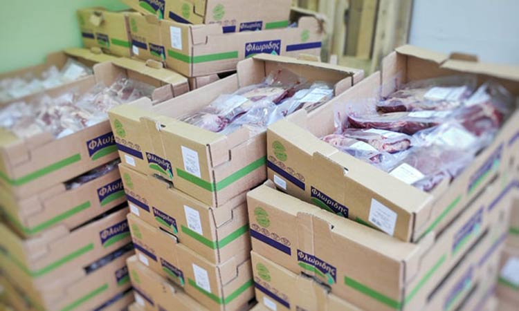Διανομή κρέατος σε 128 οικογένειες στον Δήμο Λυκόβρυσης – Πεύκης