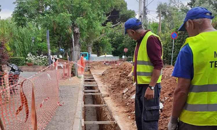 Κατασκευή φρεατίων υδροσυλλογής σε υφιστάμενους αγωγούς ομβρίων σε οδούς του Δήμου Κηφισιάς