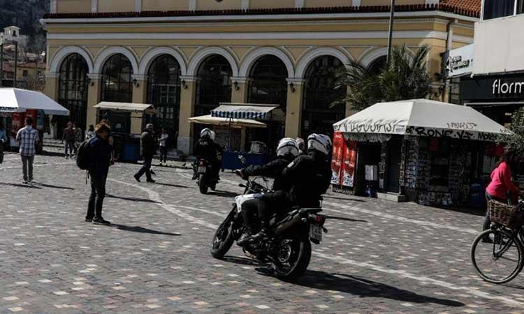 Το σχέδιο lockdown της ΕΛ.ΑΣ. για τον συγχρωτισμό στις πλατείες