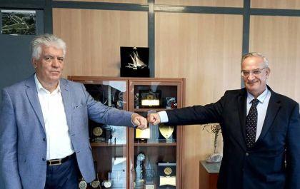 Τον νέο σύμβουλο Πολιτικής Προστασίας Π. Φαραντάτο θα έχει πλάι του ο δήμαρχος Αγ. Παρασκευής