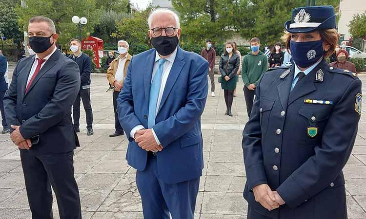 Υπό όλα τα μέτρα έναντι της Covid-19 ο εορτασμός της 28ης Οκτωβρίου στον Δήμο Λυκόβρυσης-Πεύκης