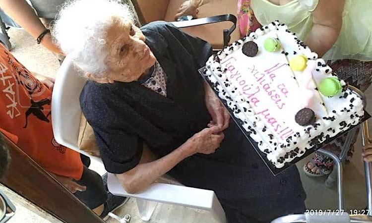 Πάτρα: Πέθανε σε ηλικία 115 ετών η γηραιότερη Ελληνίδα